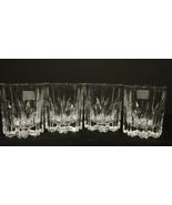 Set of 4 Mikasa BERKELEY  Pattern Old Fashioned Glasses  - $40.00