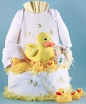 Just Ducky Layette Diaper Cake - $158.00