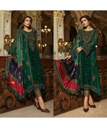 Maria B. Hot Sell Designer Suit Wedding Dress Chiffon Collection Shalwar... - $71.18