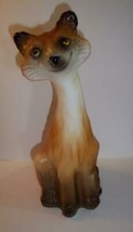 Fenton Glass Foxy the Feline Red Fox Alley Cat Figurine LE GSE Spindler ... - $319.62