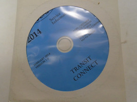 2014 Ford Transit Connect Service Shop Repair Information Manual ON CD NEW - $277.15
