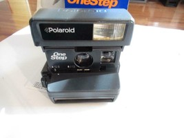 VINTAGE CAMERA - POLAROID INSTANT ONE STEP CAMERA - BOXED - EXC- G3 - $32.29
