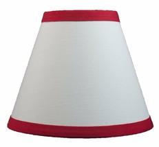 Urbanest White Cotton Chandelier Lamp Shade, 6-inch, Hardback, Clip on, ... - $7.91+