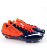 Nike Vapor Speed D Low Football Cleats Men's 13.5 Denver Broncos Orange ... - $17.95