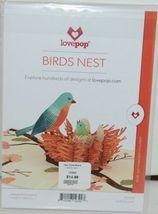 Lovepop LP2392 Birds Nest Pop Up Card  White Envelope Cellophane Wrapped image 6