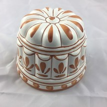"Vintage Decorative Ceramic Pottery Italian Jello Mold Wall Hanger Dia 4.5"" - $9.49"