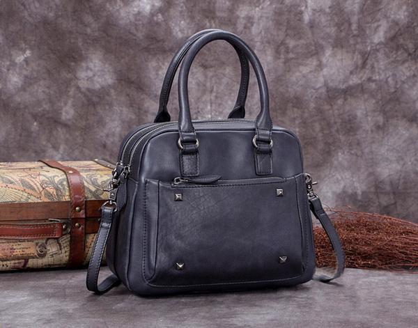 Sale, Genuine Leather Messenger Bag, Shoulder Bag, Satchel Bag