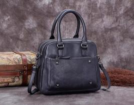 Sale, Genuine Leather Messenger Bag, Shoulder Bag, Satchel Bag image 1