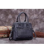 Sale, Genuine Leather Messenger Bag, Shoulder Bag, Satchel Bag - $190.00