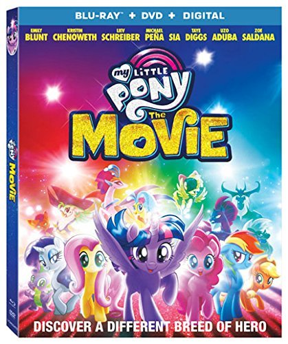 My Little Pony: The Movie [Blu-ray+DVD+Digital, 2018]