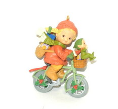 Memories Of Yesterday Enesco 592846 Bringing Good Wishes Your Way Ornament in bo - $14.79