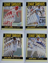 1990 Fleer League Standouts Baseball Cards Complete Your Set You U Pick - $0.99+