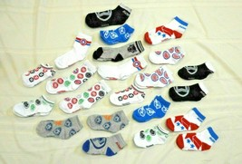 Avengers Infinity 22 Pair Boxy Socks Mixed Sizes and Styles   - $35.52