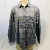 John Rich And Bros Woolrich Women's Button Down Flannel Size Medium - £11.62 GBP