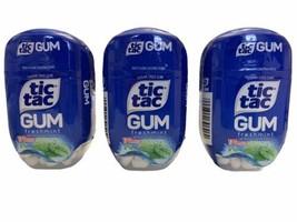 3 x Tic Tac FRESHMINT Sugar Free Gum 170 Pieces Each BBD 07/2021 Discont... - $29.69
