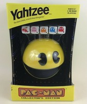 Yahtzee Pac-Man Collector's Edition Game 2013 Classic Shake Score Dice H... - $44.50