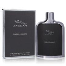 Jaguar Classic Chromite by Jaguar Eau De Toilette Spray 3.4 oz - $23.95