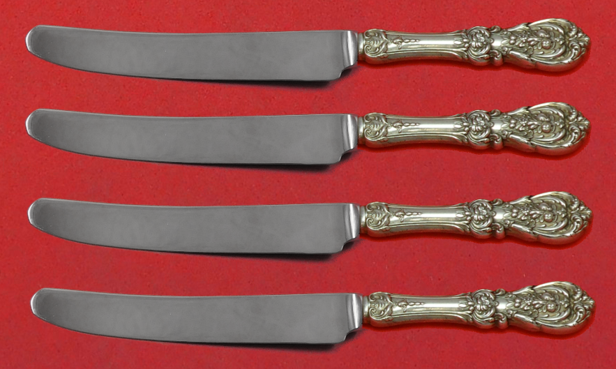 Primary image for Francis I by Reed and Barton Sterling Silver Fruit Knife Set 4pc Custom HHWS