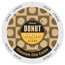 Authentic Donut Shop Chocolate Chip Cookie Coffee 48 or 96 K cups Pick A... - $36.99+