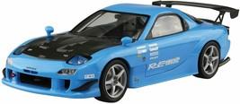 Aoshima Bunka Kyozaisha The Tuned Car SeriesNo.67 Mazda FD3S RX-7 Plasti... - $73.40