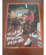 Vintage 1993 Michael Jordan Gatorade SI Magazine Ad - $9.95