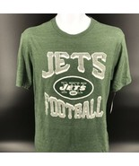 NFL New York Jets Tri-Blend Tee Shirt Size Adult Small - NEW With Tags -h - $19.60