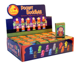 Pocket Buddha Buddhism 24 Mini Figure Figurine Toy Series 1 with Counter... - $60.00