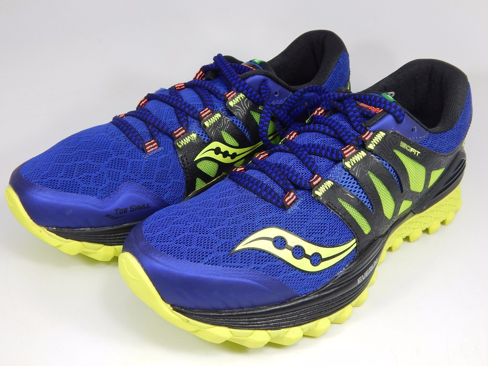 Saucony Xodus ISO Men's Trail Running Shoes Sz US 9 M (D) EU 42.5 Blue S20325-2