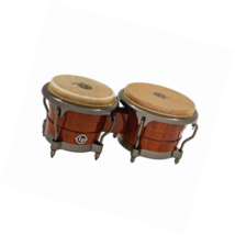 Latin Percussion LP Durian Wood Bongos,Natural/Chrome - $336.51