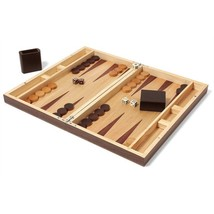Collector's Edition Backgammon - Walnut & Oak - $116.39