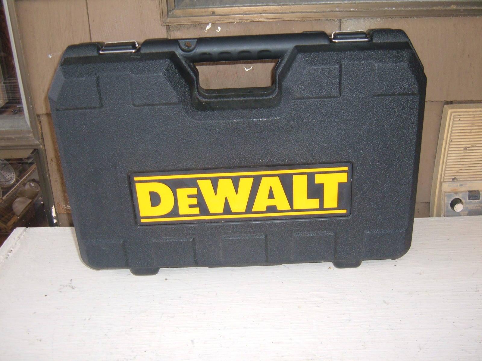 "DEWALT 18V DW960 3/8"" RIGHT ANGLE DRILL KIT WITH DC9096 BATT, DW9116 CHGR & CASE - $179.00"