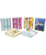 Pocket Photo Album - 4 x 6 inches - 6 Assorted Styles - $9.89