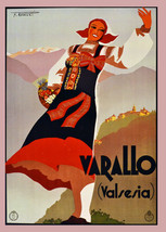 "20x30""Poster on Canvas.Home Room Interior design.Travel Italy.Varallo.6537 - $60.78"