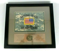 United States Army National Guard American Patriot Award Wall Art Victory Coin - $14.85