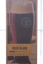 NEW Refinery and Co Oversized Pilsner Beer Glass Stylish Elegant Design ... - $13.98