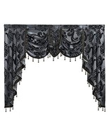 NAPEARL European Style Luxury Waterfall Valance Living Room Window Decor... - $40.15