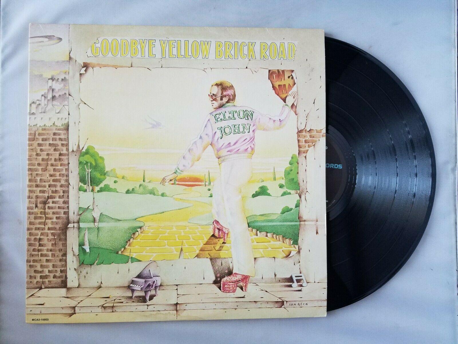 Elton John Yellow Brick Road Vinyl Record Vintage 1973 MCA Records