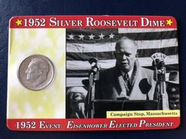 1952 Roosevelt Silver Dime - $4.95