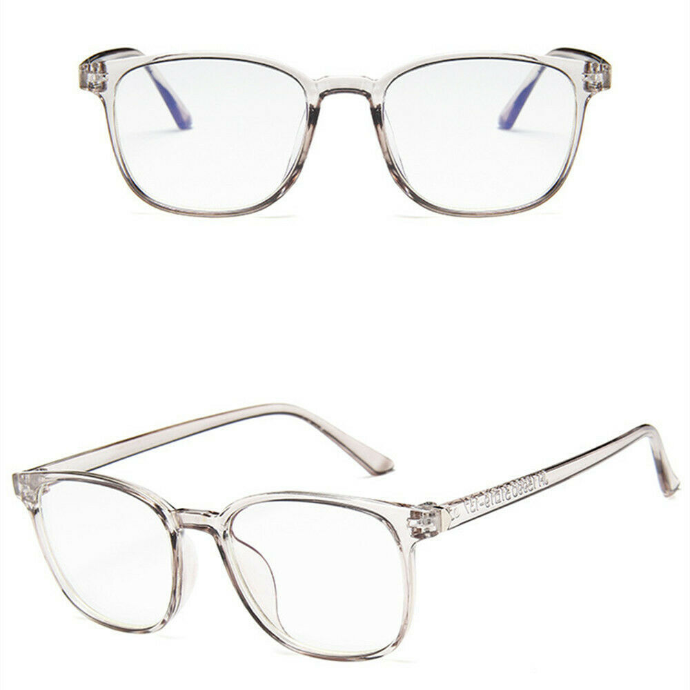New Fashion Retro Style Square Clear Lens Glass Frame Retro Casual Daily Eyewear