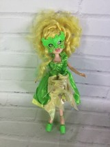 MGA Bratz Chic Mystique Meygan Doll Parakeet Mask Shoes Lime Green Exclu... - $31.67