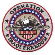Us Armed Forces Operation Iraqi Freedom Military Patch Oif Iraq Bald Eagle - $11.87