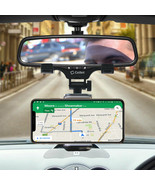Universal Car Rearview Mirror Phone Mount with 360 ° Rotating Cradle Adj... - $9.95