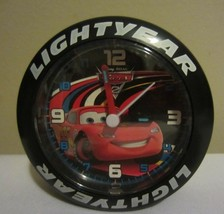 "Disney Pixar Cars Lightyear Tire Dial Gauge Miniature 3"" Desk or Wall Clock - $9.89"