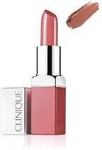 Clinique Pop Lip Nude Pop 01 + Primer .13 oz 3.9 g New in Box - $18.00