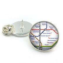 London Covent Garden Lapel Pin Badge| Tie pin| London underground| tube ... - $5.99