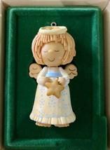 Christmas Angel 1978 Hallmark Keepsake Ornament - QX1396 - Vintage - Dou... - $28.04