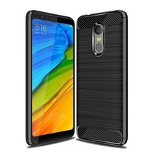 Carbon Fiber Phone Cases For Xiaomi Redmi Case Silicone (Black Case) - $14.99