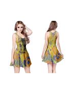 FRANK ZAPPA  WOMENS REVERSIBLE SLEEVELESS SHORT MINI DRESS - $17.99+
