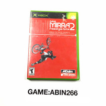Dave Mirra 2 Freestyle Bmx Microsoft XBOX PAL Video Game Complete - $9.65
