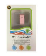 3G Bluetooth 3.0 Casque sans Fil Mains-Libres Voix Numérotation Rose - $6.93